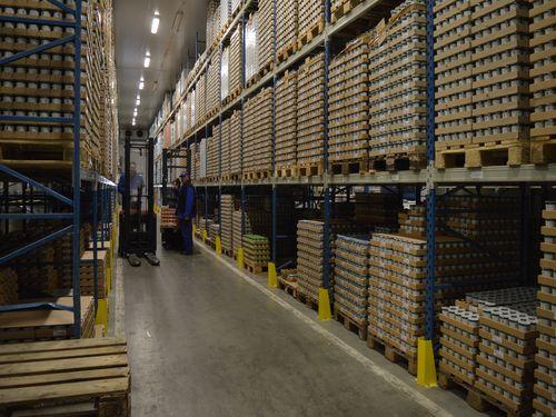 Mlekara Celje skladište gotovih proizvoda