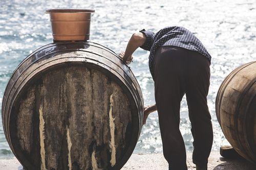 bure za vino pranje