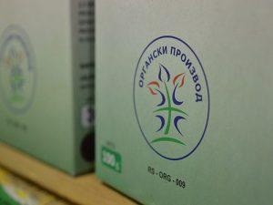 organski proizvod logo