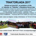 """Peta """"Traktorijada"""" u Banatskom Novom Selu u nedelju, 9. jula 2017."""