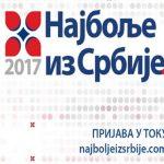 """""""Najbolje iz Srbije"""" – Prijave za ovo priznanje primaju se do 6. februara 2018."""
