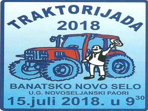 Traktorijada u Banatskom Novom Seluu nedelju 15. jula