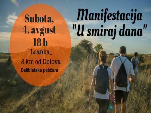 "Read more about the article ""U smiraj dana"" – manifestacija za dušu i telo, 4. avgusta u Deliblatskoj peščari"