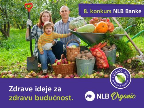 NLB Organic konkurs – Rok za prijave produžen do 15. juna
