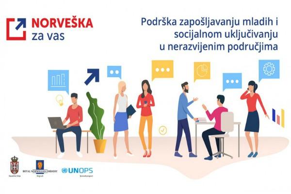 Read more about the article Norveška podržava zapošljavanje mladih u nerazvijenim područjima