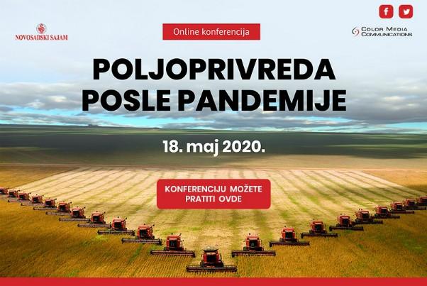 """Onlajn konferencija """"Poljoprivreda posle pandemije"""""""