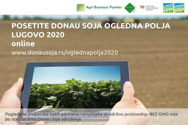 Donau soja ogledna polja 2020 ON-LINE (Bez GMO soje)