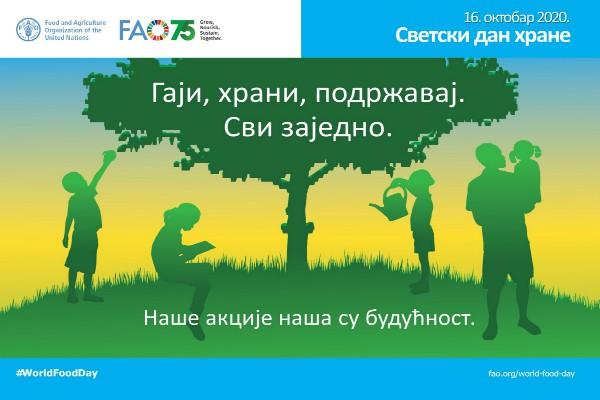 Svetski dan hrane 16. oktobar. Mesec pravilne ishrane