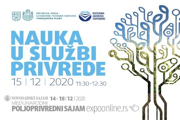 "Read more about the article Onlajn panel diskusija ""Nauka u službi privrede"" 15. decembra"
