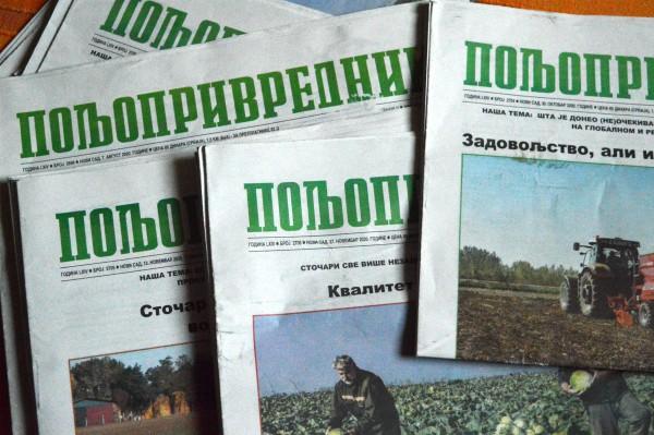 """List """"Poljoprivrednik"""" već 64 godine """"agronom u kući"""""""