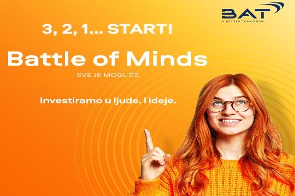 """Takmičenje """"Battle of Minds"""" za inovacije iz oblasti ekologije"""