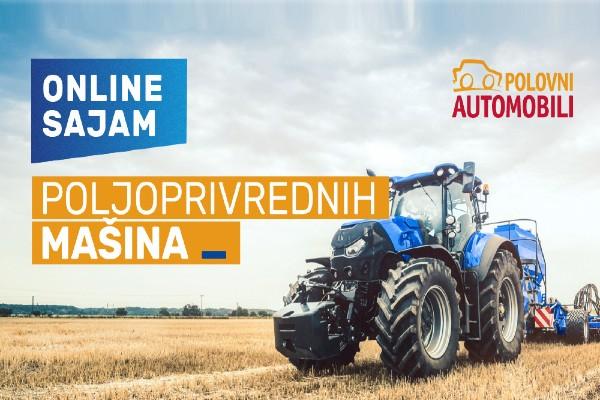 Read more about the article Onlajn sajam poljoprivrednih mašina na sajtu Polovni automobili